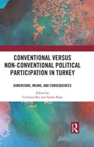 Conventional Versus Non-conventional Political Participation in Turkey