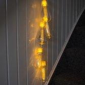 Kerstverlichting lichtbundel 5 warm wit LED 0,7 meter