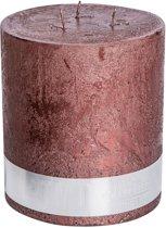 PTMD Kaars Rustic bronze 3 wick 18x16