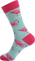 Hippe Sokken -  Flamingo pink ,  Maat 41 - 47