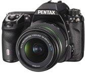 Pentax K-5 II + 18-55 mm WR + 50-200 mm WR - Spiegelreflexcamera - Zwart