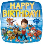 Folieballon Paw Patrol Happy Birthday