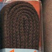 3 mm x 120cm donker Bruin - Rond Cord 100% katoenen schoenveter