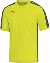 Jako - T-Shirt Striker - lime/antraciet - Maat 164