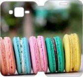 Samsung Galaxy J5 Uniek Design Hoesje Macarons