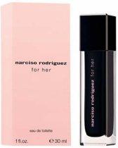MULTI BUNDEL 2 stuks Narciso Rodriguez For Her Eau De Toilette Spray 30ml