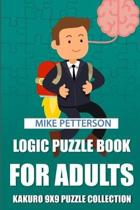 Logic Puzzle Book for Adults