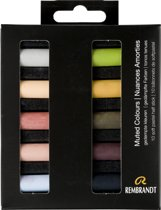 Rembrandt softpastel half 10 Gedempte kleuren