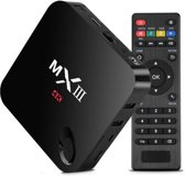 MX3 Android TV Box 4K Kodi - Inclusief MX3 Flymouse