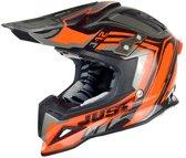 JUST1 Helmet J12 Flame Black-Orange 54-XS