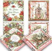 Set van 20 luxe Janneke Brinkman-kerstkaarten (set 2)