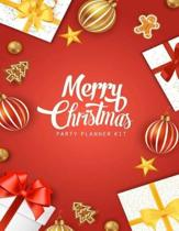 Merry Christmas Party Planner Kit