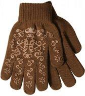 Elastische handschoenen met print