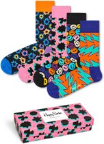 Happy Socks Festival Giftbox - Roze - Maat 36-40