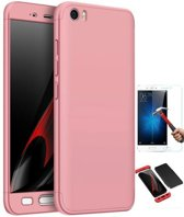 Teleplus Xiaomi Mi 5 360 Full Protected Cover Rose Gold + Glass Screen Protector