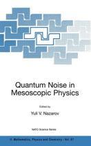 Quantum Noise in Mesoscopic Physics