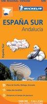 Michelin 578 España Sur: Andalucía