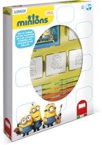 Multiprint Minions - box - 4 stempels + 7 stiften