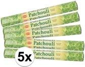 5x pakje wierook stokjes Patchouli
