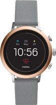 Fossil Q Venture Gen 4 FTW6016 - Smartwatch - Roségoud/Grijs