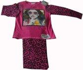 Donkerroze pyjama van Violetta maat 128