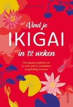 Boekomslag van 'Vind je ikigai in 12 weken'
