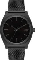 Nixon Time Teller Milanese A1187001 - Horloge - Staal - Zwart - 37mm