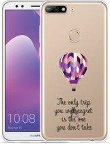 Huawei Y7 2018 Hoesje Luchtballon