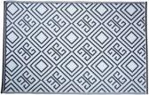 Esschert Design Vloerkleed - 120x180 cm - Blauw