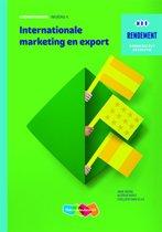 Rendement - Internationale marketing en export Niveau 4 Leerwerkboek