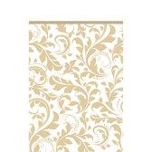 Amscan Sierlijk Tafelkleed Goud 137 X 259 Cm