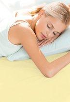 Schlafgut Hoeslaken Frottee Stretch (badstof) - 081-beige 140/200x160/200