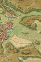 A plan of the town of Boston and its environs, with the lines, batteries, and incampments of the British and American armies - A Poetose Notebook / Journal / Diary (50 pages/25 sheets)