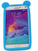 Blauw Bumper Beer Medium Frame Case Hoesje voor Samsung Galaxy A8 2016