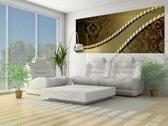 Goud Photomural, wallcovering