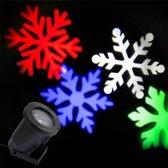 LED Light- Kerst Laser Projector (Kleuren Sneeuwvlokken)