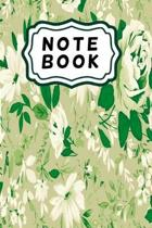Green roses notebook: Beautiful flower notebook
