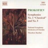 Prokofiev: Symphonies no 1 and 5 / Kuchar, Ukrainian SO