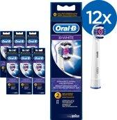 Oral-B 3DBlack Opzetborstels - Voordeelverpakking - 12 Stuks