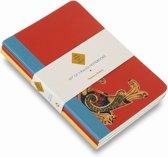 Book of Kells: Set of 3 A6 Notebooks
