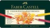 Faber Castell - Kleurpotlood - Polychromos - 12 stuks