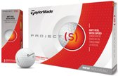 Taylormade Golf Project S 12-Pack Golfbal Wit