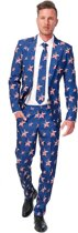 SuitMeister USA Stars and Stripes - Kostuum - Maat M