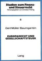 Europarecht Und Gesellschaftsteuer