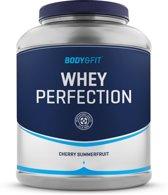 Body & Fit Whey Perfection - Eiwitpoeder / Eiwitshake - 2270 gram - Cherry Summerfruit milkshake