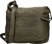 MicMacbags Schoudertas Phoenix Army Green