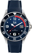 Ice-Watch Ice Steel IW015774 Horloge - Siliconen - Blauw - 44 mm