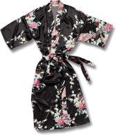 Chinese Kimono Pauw Zwart