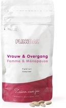 Vrouw & Overgang (Bij opvliegers, nachtelijk zweten en prikkelbare gevoelens) - 90 Tabletten - Flinndal
