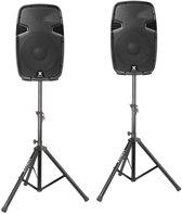 Vonyx SPJ-1200A 12 Speakerset met standaards